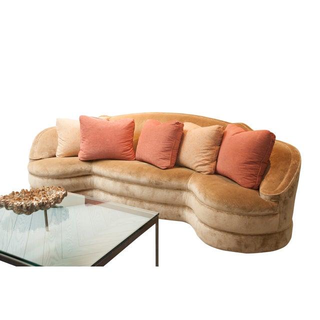 Designer Fabric Orange & Coral Pillows - Set of 5 - Image 2 of 4