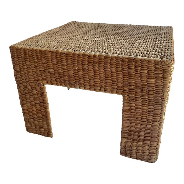 Mario Lopez Torres Woven Parsons Table For Sale