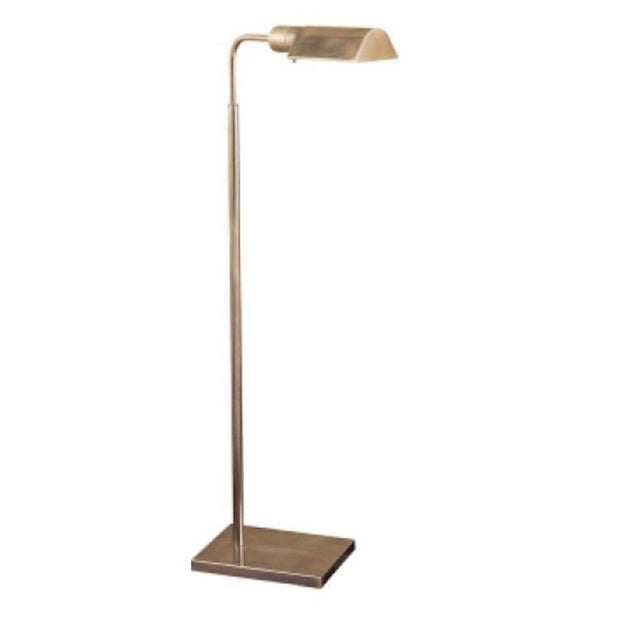 Visual Comfort Antique Brass Reading Floor Lamp - Image 3 of 3
