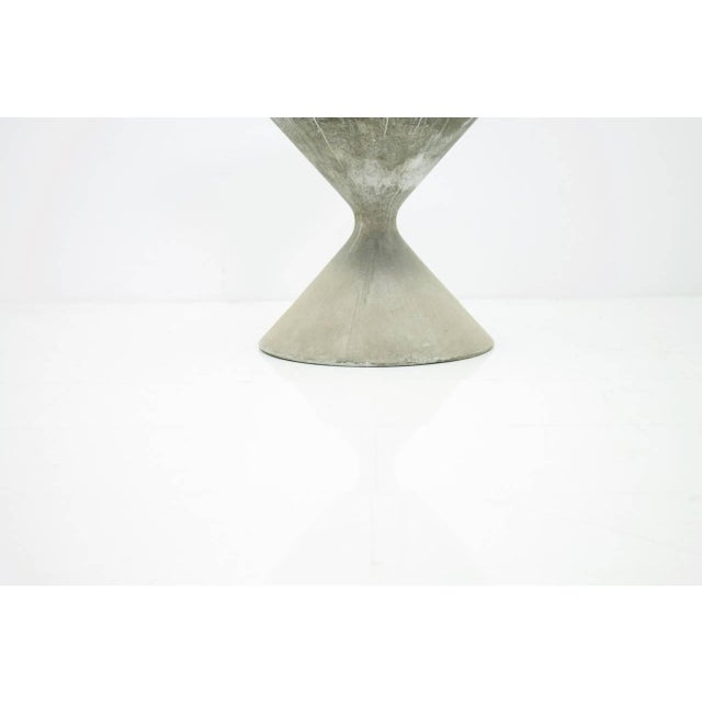 Mid-Century Modern Willy Guhl Concrete Planter, Germany 1960s For Sale - Image 3 of 8