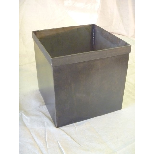 Medium Steel Storage Box - Set of 6 - Image 3 of 5