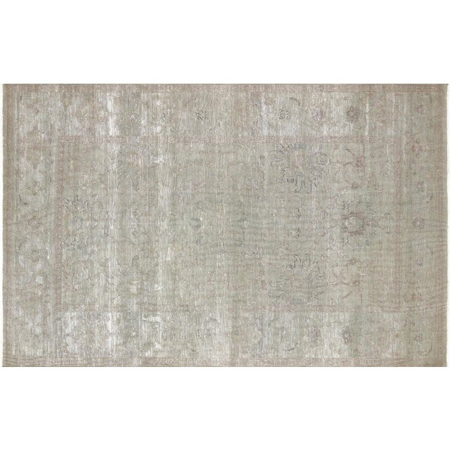 "Textile Nalbandian - 1980s Egyptian Rug - 5'8"" X 8'10"" For Sale - Image 7 of 7"