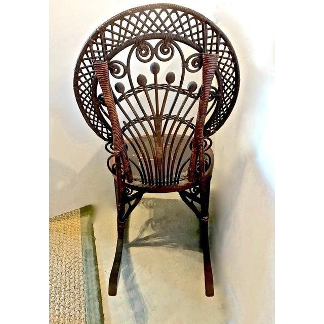 Heywood-Wakefield Heywood Wakefield Rocking Chair For Sale - Image 4 of 10