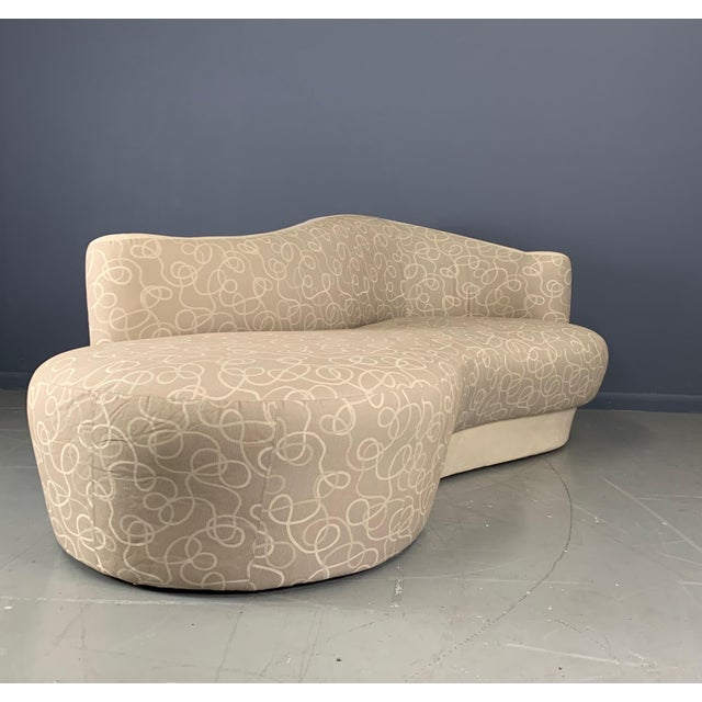 Textile Vintage Weiman Sculptural Cloud Sofas- a Pair For Sale - Image 7 of 10