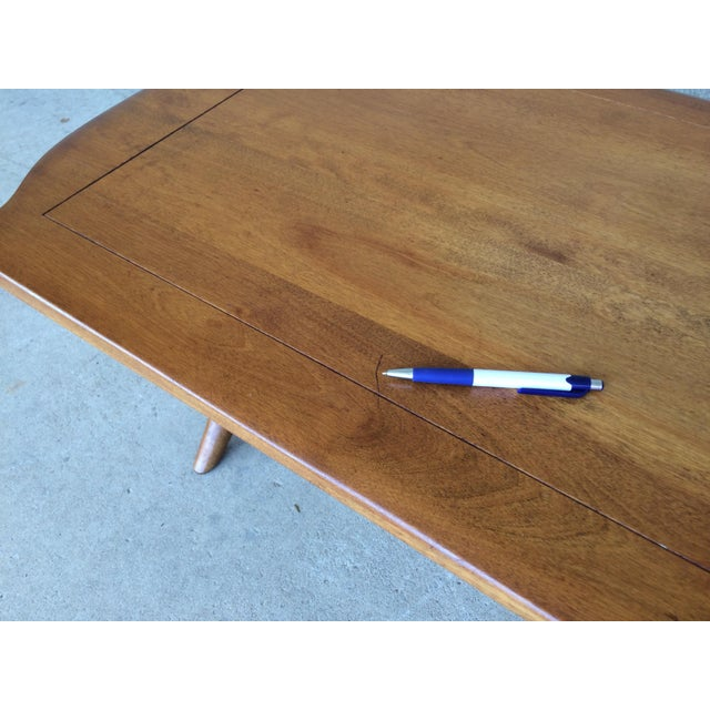Brown Cushman Colonial Maple Coffee Table For Sale - Image 8 of 11