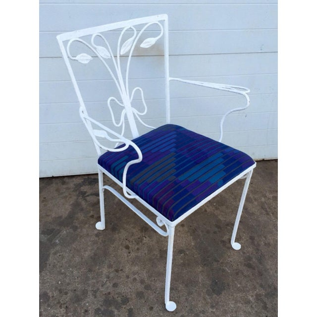 Mid-Century Metal Salterini Chair - Image 4 of 6