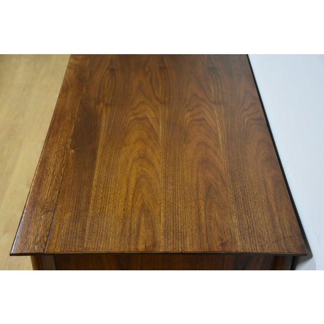 Brown Forward Furniture by Unagusta Walnut Dresser For Sale - Image 8 of 11