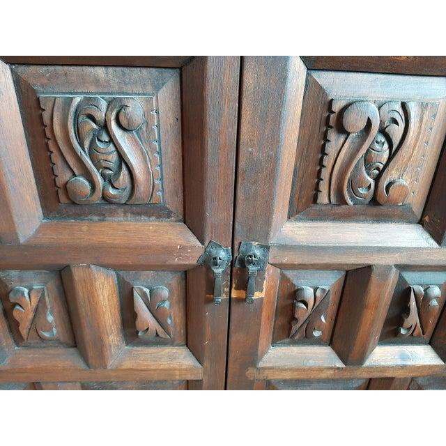 Wood Vintage Artes De Mexico Sideboard For Sale - Image 7 of 10
