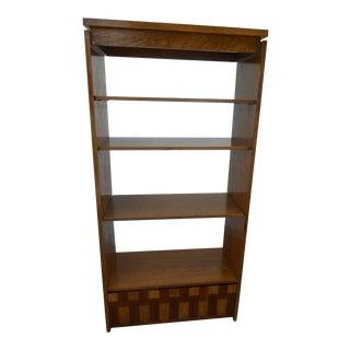 Mid-Century Modern Lane Bookshelf / Room Divider For Sale