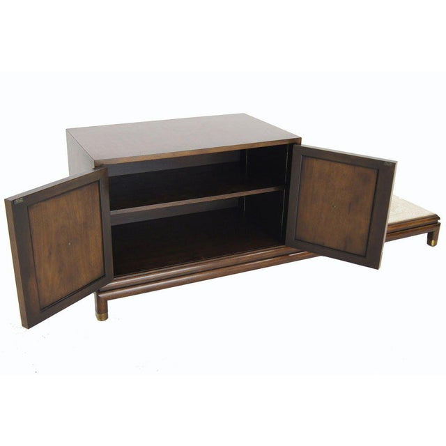 White Renzo Rutily Mid-Century Modern Credenza For Sale - Image 8 of 9