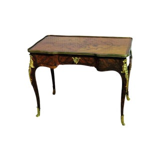 19thC Inlaid Bureau Plat For Sale