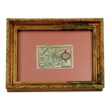 Image of 1603 Miniature Map of Bavaria For Sale