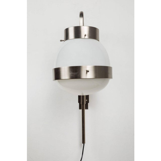1960s 1960s Sergio Mazza 'Delta' Wall Lights for Artemide - a Pair For Sale - Image 5 of 10