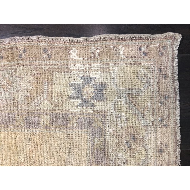 Turkish Oushak Runner - 5' x 13' - Image 8 of 8