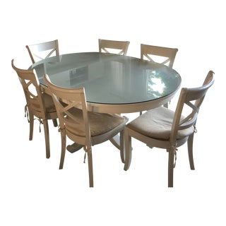 Avalon Dining Table and 6 Chairs For Sale