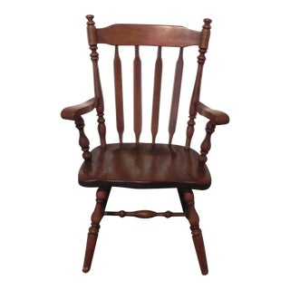 Ethan Allen Windsor Arm Chair