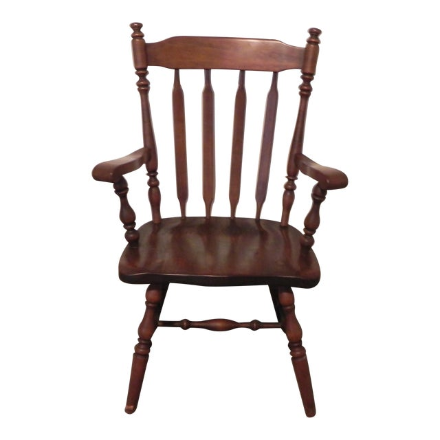 Ethan Allen Windsor Arm Chair - Image 1 of 4