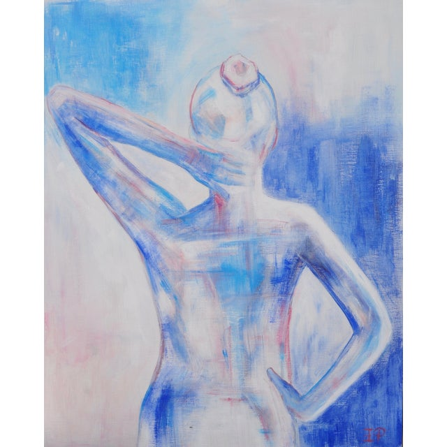 Nude Female Figure Painting - Image 1 of 4