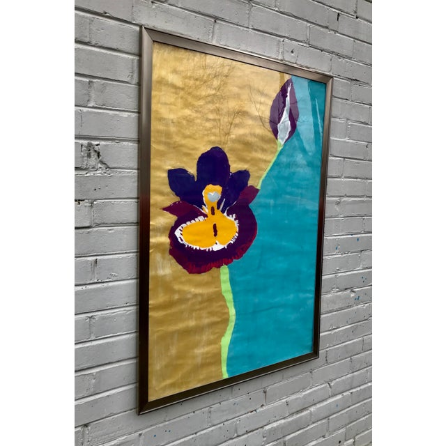 Abstract Framed Kid Art Painting For Sale - Image 3 of 12