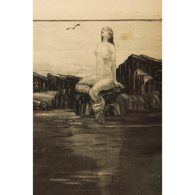 Wood Marianne Hitschmann-Steinberger Etching From 1900 Set of Two For Sale - Image 7 of 10