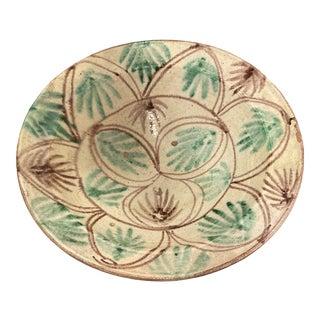 Antique Spanish Decorative Bowl For Sale
