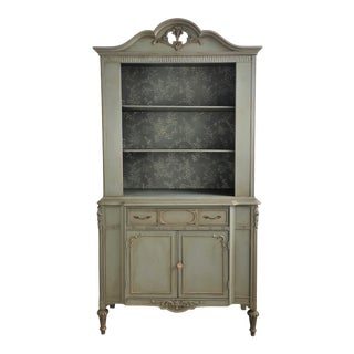 Regency Revival China Hutch