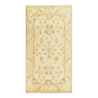 """Pasargad Indo Original Oushak Hand-Knotted Rug - 2'9"""" X 5'3"""" For Sale"""