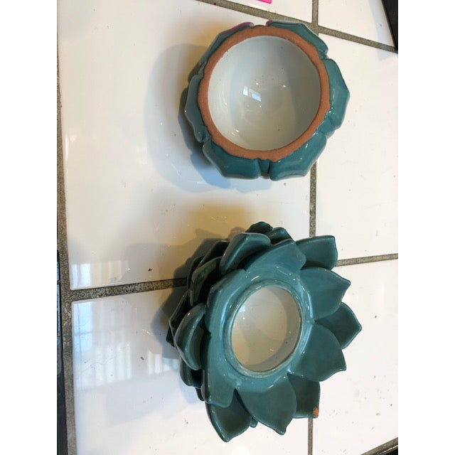 1980s 1980s Ceramic Artichoke - Set Of 3 For Sale - Image 5 of 7