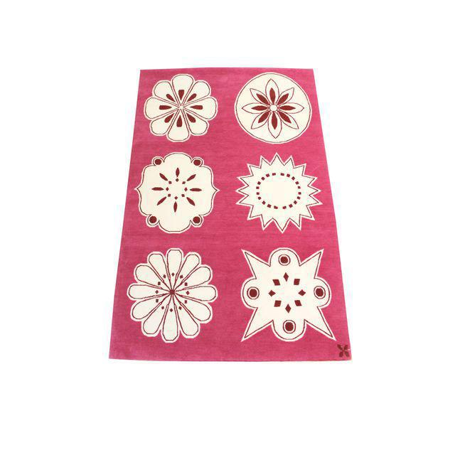 """Madeline Weinrib Hand-Knotted Tibetan Wool """"Medina"""" Rug For Sale In New York - Image 6 of 6"""