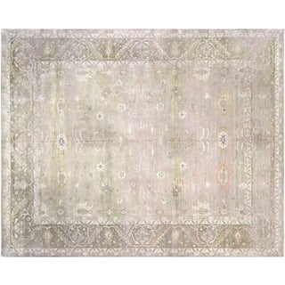 """Nalbandian - Contemporary Indian Tabriz Rug - 7'10"""" X 9'9"""" For Sale"""