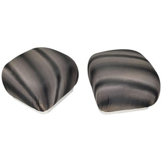 Souffle Poufs by Weiman - A Pair For Sale