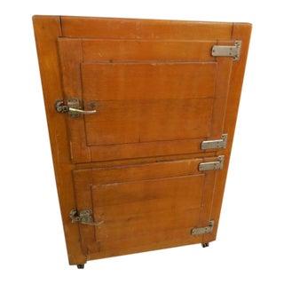Early 20th-C. Oak Fridge For Sale