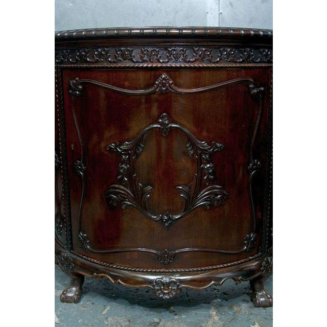Gerogian Style Demi Lune Commode - Image 2 of 10