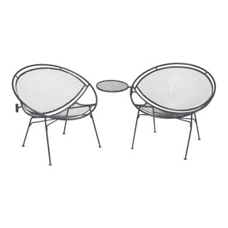 Mid-Century Modern Iconic Salterini Patio Chairs- a Pair For Sale