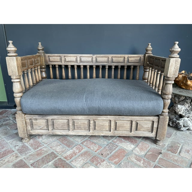 Early 20th Century European Wood Daybed For Sale - Image 9 of 9