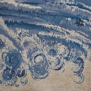 "Contemporary Schumacher Patterson Flynn Martin Antalya Hand-Knotted Wool Silk Rug - 9' X 12'4"" Preview"