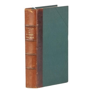 French Book-Les Maitres Italiens, 1887 For Sale