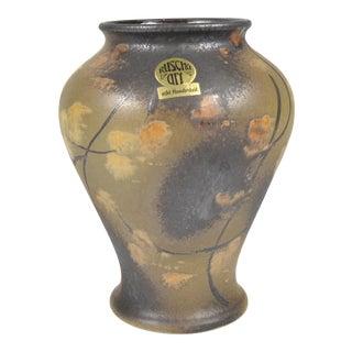 1970s Ruscha Art Ceramic Vase For Sale