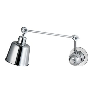 Broadway Polished Chrome Adjustable Wall Light For Sale