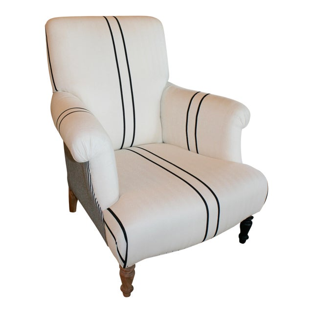 Bunakara Fingerprint Arm Chair For Sale