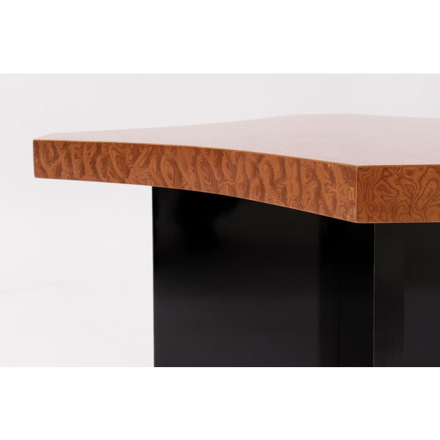 Pair of Roberto Sorrondeguy Side Tables For Sale - Image 4 of 5