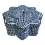 """Image of Stella Ottoman in Marika Meyer's """"Roman Fig"""" For Sale"""