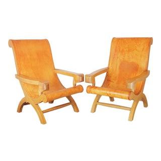 Clara Porset Butaque Chairs- a Pair For Sale