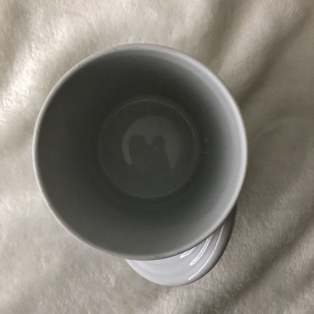 """Vintage 1980s Rosenthal Porcelain """"Kopenhagen"""" City Cup by Bjorn Wiinblad Coffee Mug For Sale In San Antonio - Image 6 of 8"""