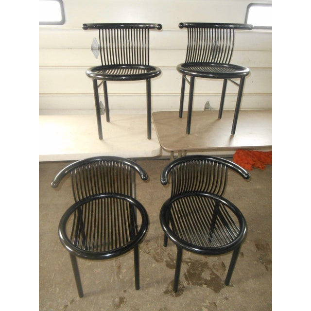 Mid-Century Modern Mid-Century Modern Helmut Lubke & Co. Dining Chairs - Set of 4 For Sale - Image 3 of 8