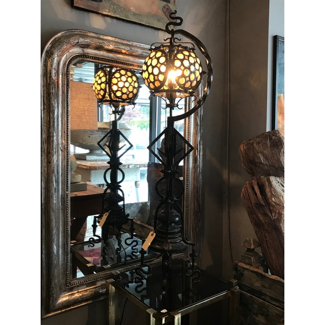 Hand-wrought Arts & Craft Table Lamp - Image 2 of 10