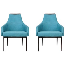 Image of Teal Side Chairs