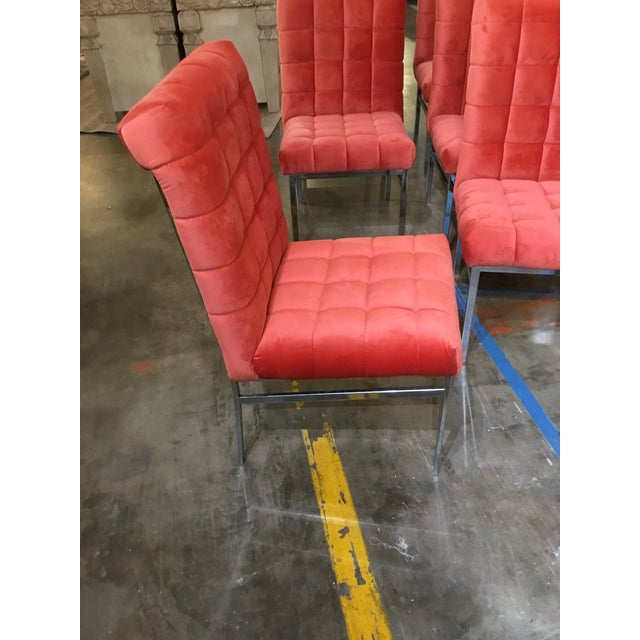 Pace Mid Century Modern Chairs - Set of 6 - Image 2 of 4
