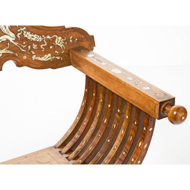 19th Century Savonarola Chairs - a Pair For Sale - Image 9 of 10