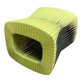 Modern Green Seatbelt Ottoman For Sale